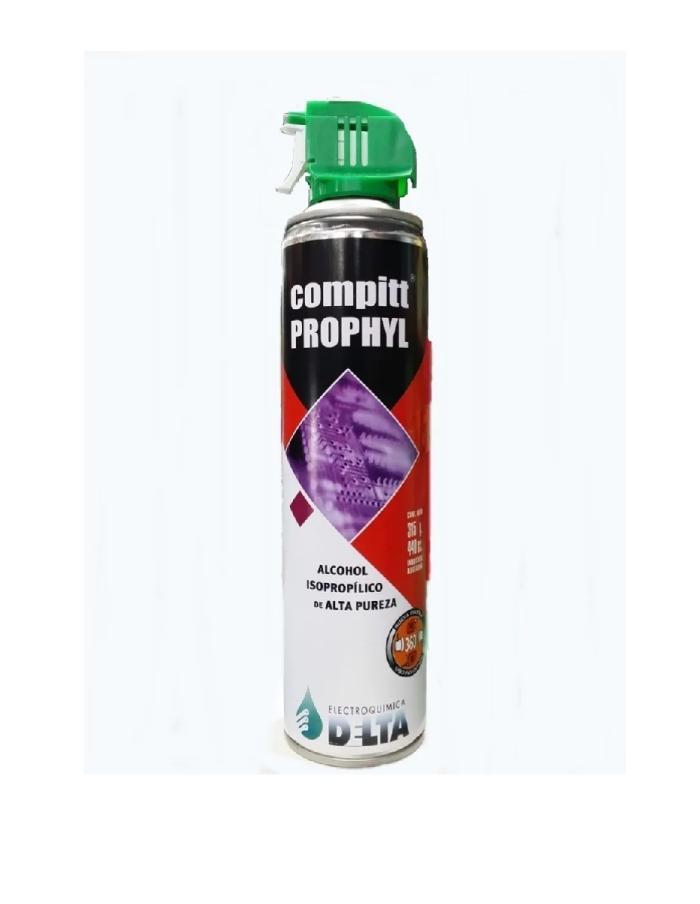 Alcohol Isopropílico Delta Compitt Prophyl 440cm³ / 315g con gatillo