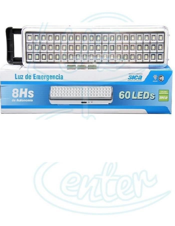 Luz de Emergencia 60 LEDs SMD Sica