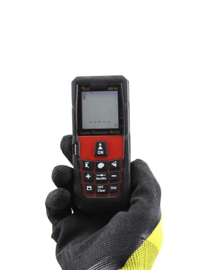 Medidor de distancia Láser Profesional Gralf GDF-04