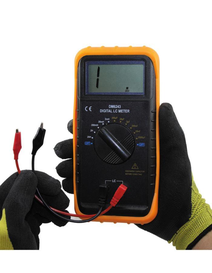 Capacímetro Inductómetro Digital Gralf DM6243
