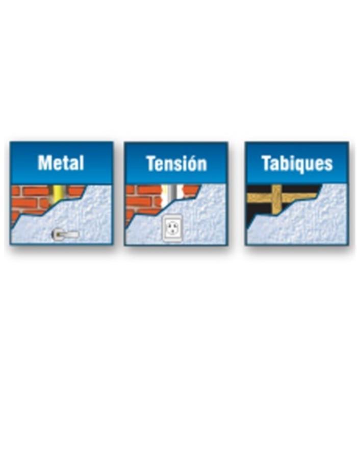 Detector 3 en 1 (tabique/metal/tensión) Sica