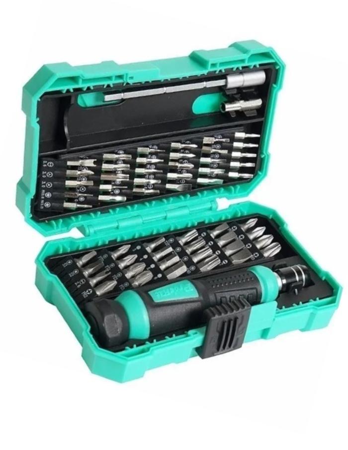 Juego Destornilladores multipropósito 54 puntas Pro'sKit SD-9857M