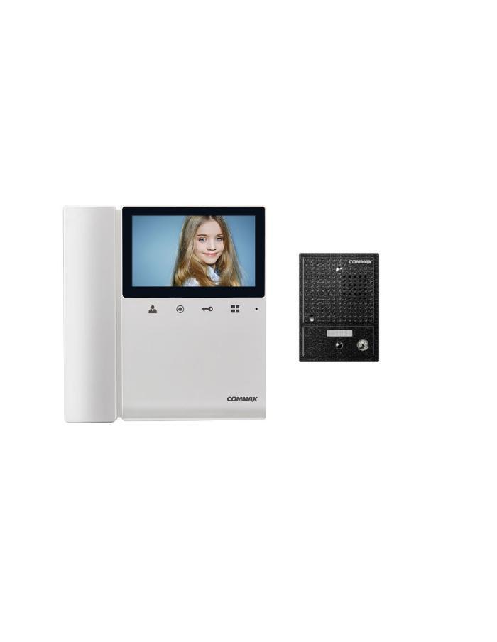 "Kit Portero Video Commax CDV-43K con 1 Teléfono y 1 Monitor 4,3"""