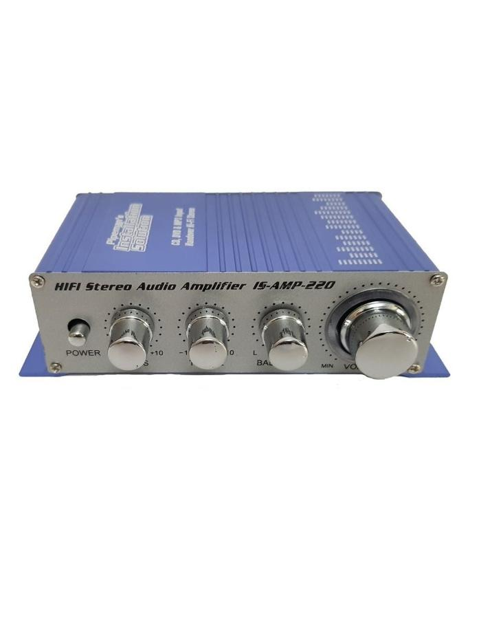 Amplificador Audio Stereo 20W Max / 10W RMS