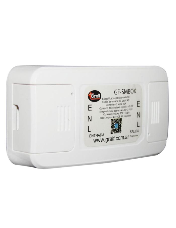Interruptor Smart Wi-Fi 10A Gralf GF-SMBOX