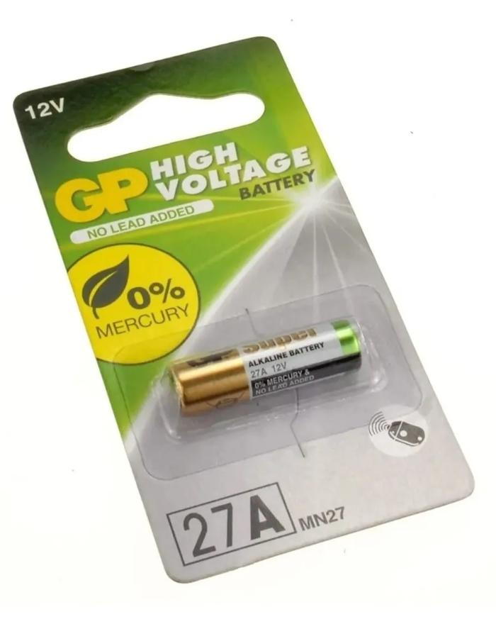 Pila alcalina 12V A27 GP
