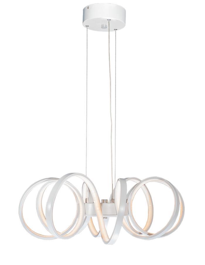Colgante LED 70W 54cm Markas Janis luz cálida