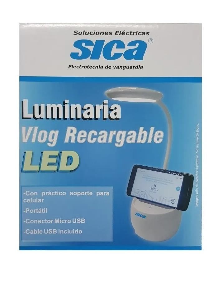 Luminaria Vlog USB Sica